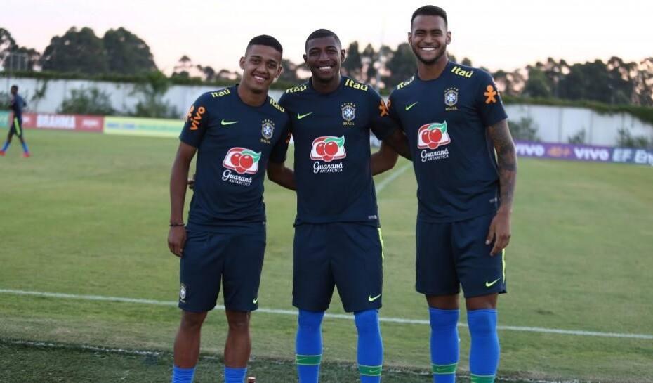 Seleção Sub-20 reúne promessas do Brasileirão  fa2163d75bb14