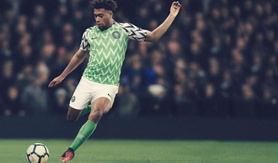 Camisas da Nigéria para a Copa batem recorde de encomendas  0ee6536ca7c24
