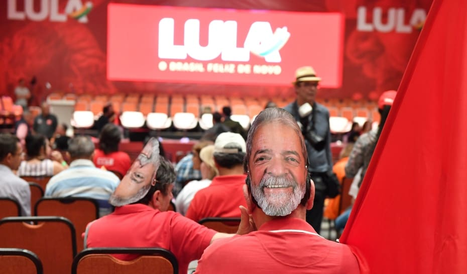 582b2171d PT lança campanha de Lula para a Presidência em Contagem