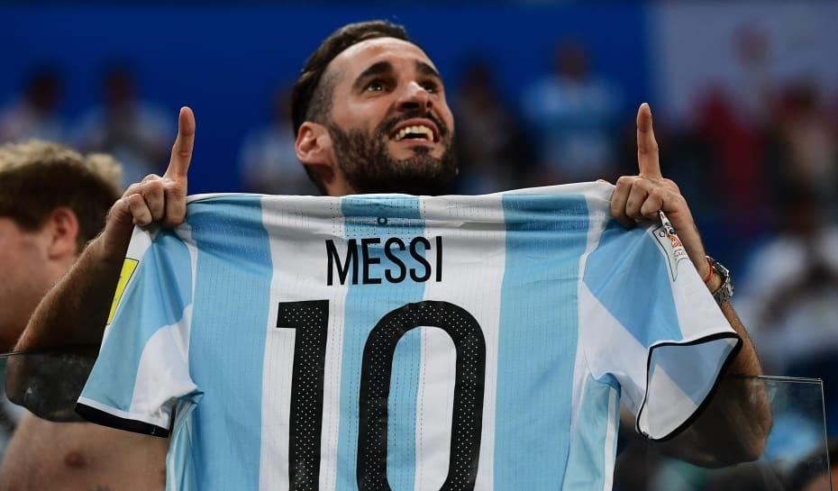 eeef13738da3e Messi marca um dos gols da vitória da Argentina contra a Nigéria