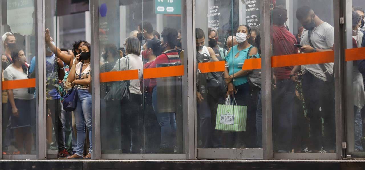 Lotação na pandemia
