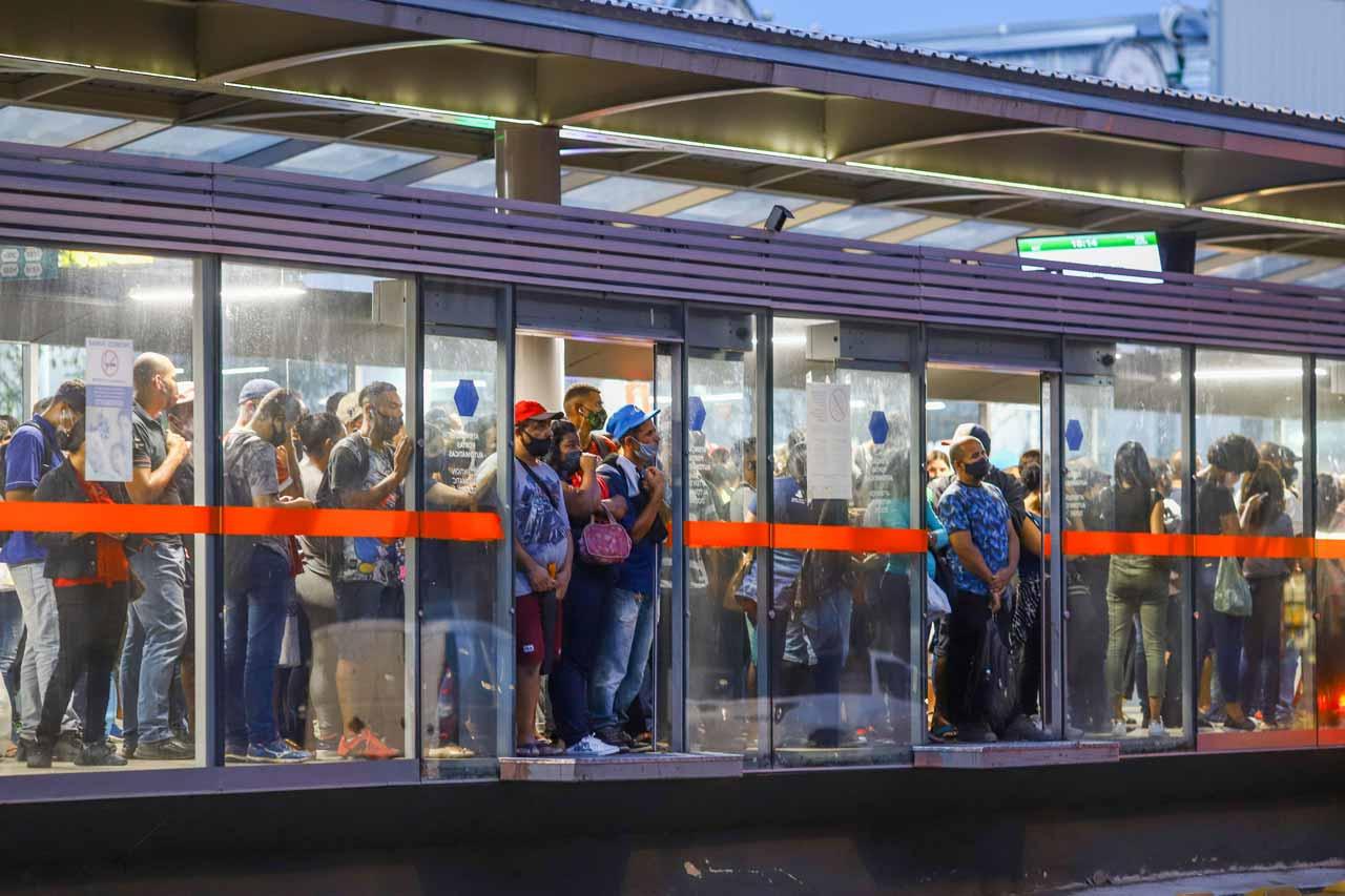 Concessão considera 1,6 milhão de passageiros, mas, segundo o SetraBH, o volume nunca passou de 1,3 milhão - Foto: Flávio Tavares