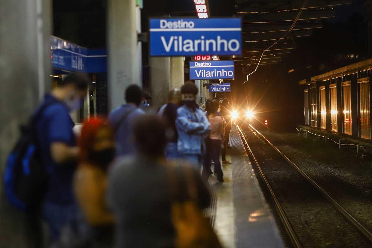 Número de passageiros transportados pelo metrô caiu 56,8% em maio, na comparação com a média de um dia útil anterior à pandemia - Foto: Flávio Tavares