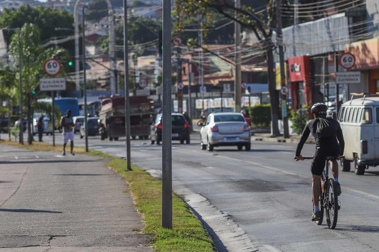 Vilarinho: avenida de grande movimento tem plano de ciclovias prestes a sair do papel - Foto: Flávio Tavares