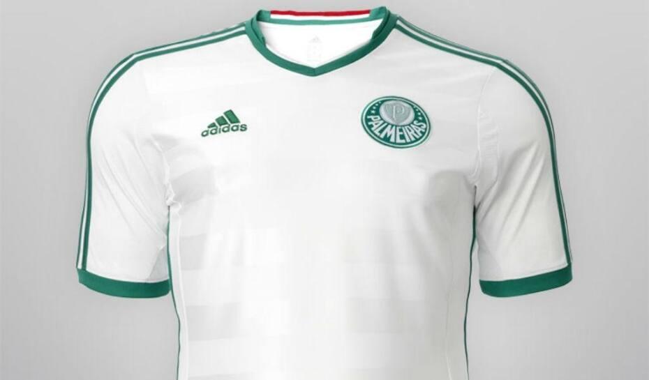 Palmeiras exibe uniforme retrô e resgata camisa branca  480d6966f6c83