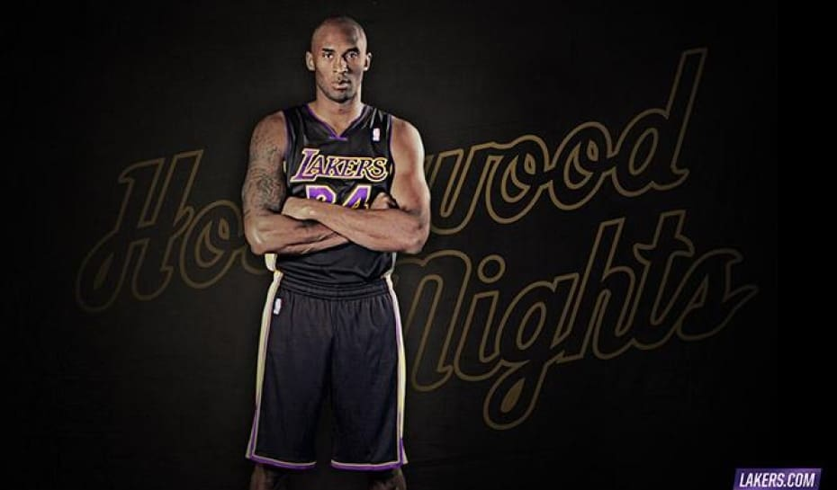 2ffd2769a Kobe Bryant apresenta aos fãs do basquete o novo uniforme dos Lakers