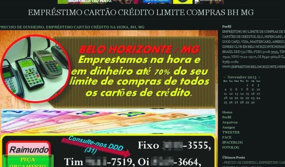 8da34ad714 Prática ilegal é divulgada na internet  cliente usa o próprio cartão para  pegar dinheiro