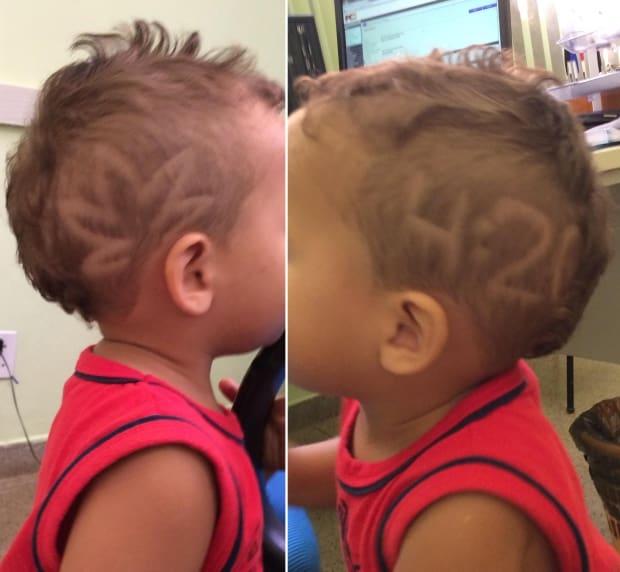 Corte de pelo bebe 20 meses
