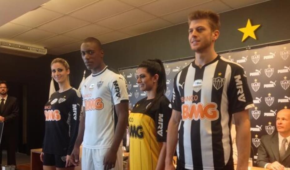 fd9315fb83 Com valor de contrato menor, Atlético lança nova camisa para 2014 ...