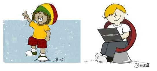 a diferença entre ilustração e desenho jornal o tempo