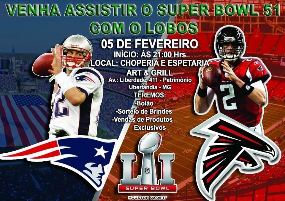 Onde assistir o Super Bowl 51 em Belo Horizonte e nas principais ... 2b9ade0c0f06b