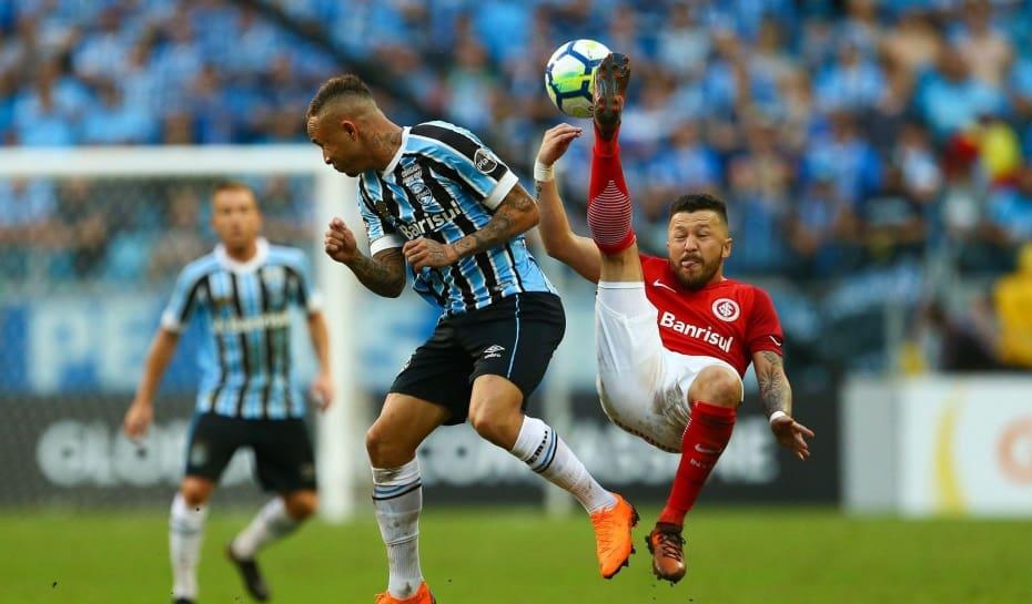 Defesa do Inter segura o Grêmio e garante empate por 0 a 0 no ... a1c0ee5944240