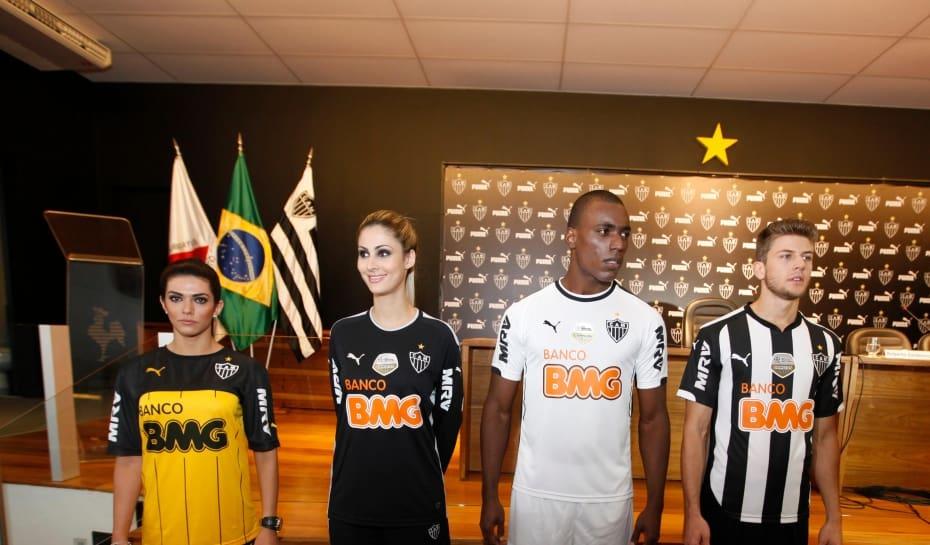 5819a076f1 Esportes-Belo Horizonte MG- CAMISA GALOLancamento da nova camisa do Galo  patrocinado pela PumaFoto