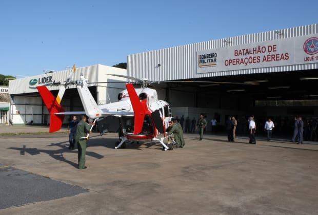 Helicóptero de R$ 35 mi adquirido para a Copa está parado até hoje - O Tempo