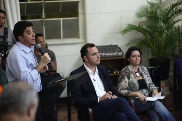 Politica - Belo Horizonte, Mg. Debate dos Candidatos de Belo Horizonte. Fotos: Leo Fontes / O Tempo - 17.8.16